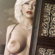 Christina Aguilera nude Playboy magazine celebrity cover naked photo shoot UHQ