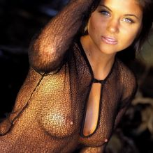 Tiffani-Amber Thiessen young nude Playboy magazine photo shoot 28x UHQ