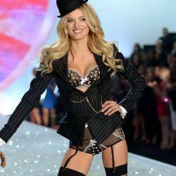 Lily Donaldson 2013 Victoria's Secret Fashion Show 9x UHQ