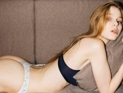 Greta Aukstuolyte see through lingerie by Daniele Arrigo photo shoot 15x HQ photos