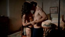 Callie Hernandez - Graves S01 E06 720p topless naked nude sex scene