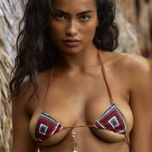 Kelly Gale - Sports Illustrated Swimsuit 2017 topless bare ass tiny bikini big boobs 29x HQ photos