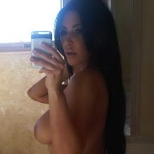 Kim Kardashian leaked private nude photo hacked personal naked pics 4x UHQ