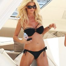 Victoria Silvstedt sexy bikini candids on a yacht in Monaco 23x UHQ photos