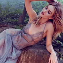 Rosie Huntington-Whiteley in see through dress for Alexi Lubomirski photo shoot 9x HQ photos