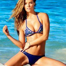 Nina Agdal sexy Beach Bunny Bikini 2015 Spring 12x HQ