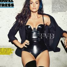 Nina Dobrev sexy for Men's Health magazine December 2016 8x HQ photos