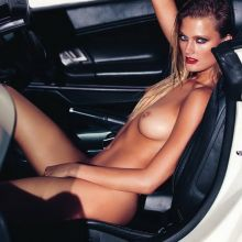 Constance Jablonski nude spread legs naked for Lui magazine October 2016 HQ photos