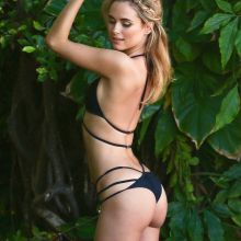 Kimberley Garner sexy black bikini photo shoot 2016 February 45x UHQ photos