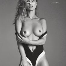 Joanna Krupa topless for Treats magazine 5x HQ photos
