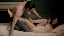 Charlotte Riley - Close to the Enemy S01 E04 720p topless nude sex scenes