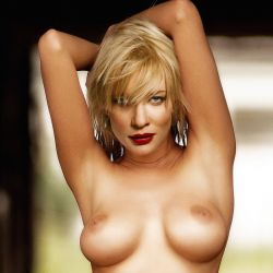 Cate Blanchet nude Playboy magazine celebrity cover naked photo shoot UHQ