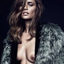 Maria Gregersen topless Henrik Bülow photo shoot 10x HQ