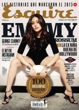 Emmy Rossum sexy Esquire 2013 December 7x MQ