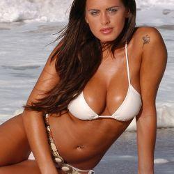 Silvina Luna hot photo shoot on the beach 12x UHQ