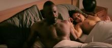Gemma Arterton - 100 Streets boobs pop out sex scene