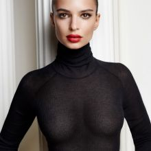 Emily Ratajkowski nude Mario Testino photo shoot for GQ UK 2015 October 11x HQ