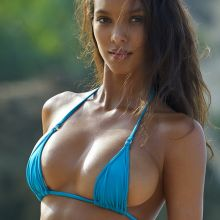 Lais Ribeiro - Sports Illustrated Swimsuit 2017 topless see through tiny bikini big boobs 33x HQ photos