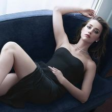 Amber Heard braless photo shoot for Marie Claire 2015 December 5x HQ