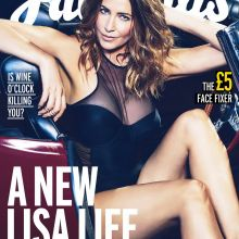 Lisa Snowdon sexy for Fabulous Magazine 2015 September 4x HQ