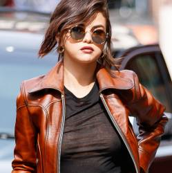 Selena Gomez braless in see through top leaves little to the imagination while out in NYC 20x HQ photos