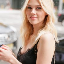 Nicola Peltz in see through top for W Magazine It Girl Luncheon in NYC 8x UHQ photos