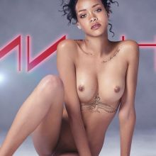 Rihanna nude on new album cover UHQ