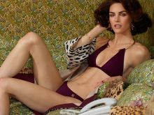 Hilary Rhoda sexy W magazine 2014 May photo shoot 7x UHQ