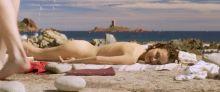 Natalie Portman - Planetarium 1080p nude sunbathing scene