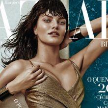 Barbara Fialho hot for Harper's Bazaar 2015 January issue 8x HQ