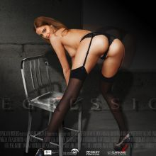 Emma Watson topless Regression Blu-ray, DVD cover UHQ