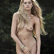 Elsa Hosk nude topless by Adam Franzino photo shoot 4x UUHQ