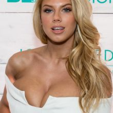 Charlotte McKinney sexy cleavage on red carpet UHQ