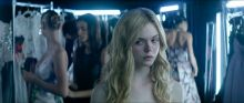 Elle Fanning, Abbey Lee, Jena Malone, Bella Heathcote, etc - The Neon Demon - Red Band International trailer lingerie topless lesbian sex scenes