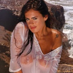 Silvina Luna hot photo shoot on the beach 12x UHQ