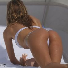 Melissa Castagnoli wearing sexy bikini on the Miami Beach 17x HQ