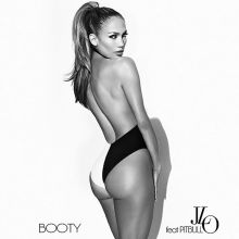 Jennifer Lopez sexy Booty single cover HQ