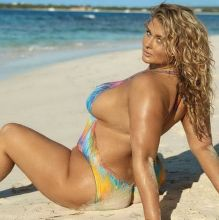 Hunter McGrady - Sports Illustrated Swimsuit 2017 nude bodypaint big boobs big ass 12x HQ photos