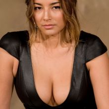 Jessica Gomes sexy cleavage photoshoot in Seoul 15x HQ