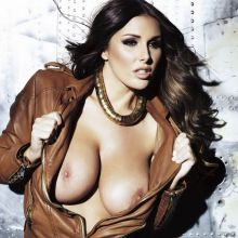 Lucy Pinder topless  Nuts 2013 November 20x HQ