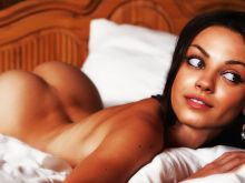 Mila Kunis nude Esquire Me in My Bed photo shoot UHQ