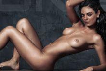 Mila Kunis nude art photoshoot UHQ
