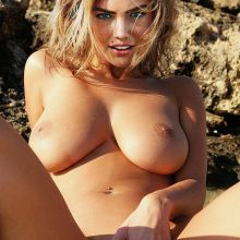 Kate Upton naked from Sport Illustrated photoshoot nude spread legs spread lips show big boobs UHQ