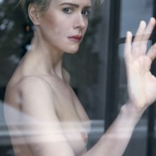 Sarah Paulson topless photo shoot for W magazine 2016 August 3x UHQ photos