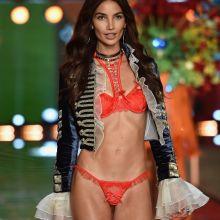 Lais Ribeiro sexy Victoria's Secret lingerie 2015 Fashion Show 8x UHQ