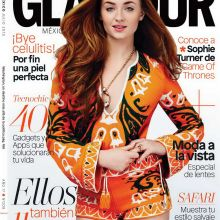 Sophie Turner sexy photo shoot for Glamour magazine 2015 July 17x MixQ