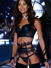 Lily Aldridge sexy 2014 Victoria's Secret Fashion Show in London 15x UHQ