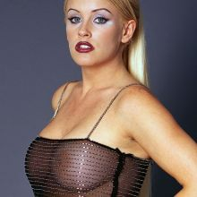 Jenny McCarthy see through photo shoot 2000 October 4x UHQ