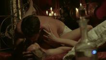 Esmeralda Moya - Victor Ros S02 E01 720p topless sex scene