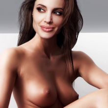 Angelina Jolie young nude photo shoot UHQ